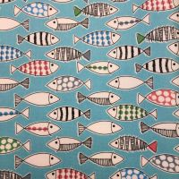 Fish Laminated Fabric