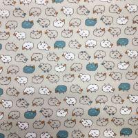 Sheep Laminated Fabric