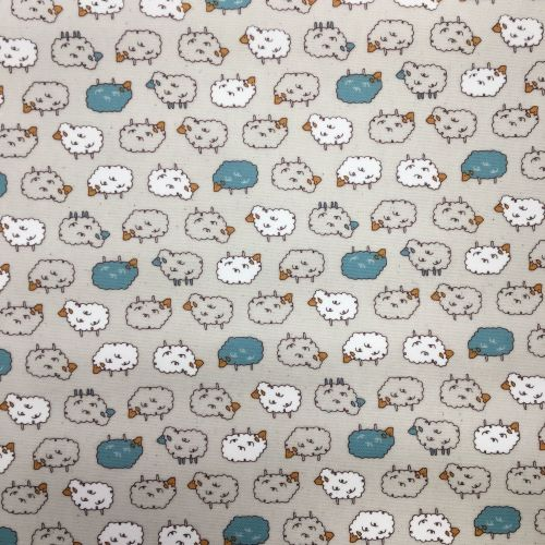 Sheep Laminated Fabric
