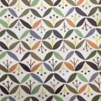 Retro Design Laminated Fabric