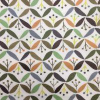 Retro Design Laminated Fabric