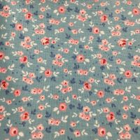 Cotton Petit Florals Blue