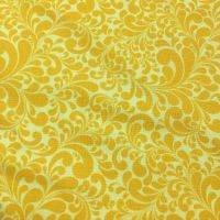 Cotton Swirls Yellow