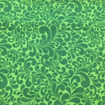 Swirls Green