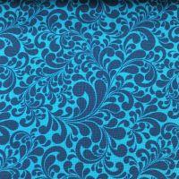 Swirls Blue