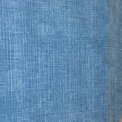 Linen Look Blue