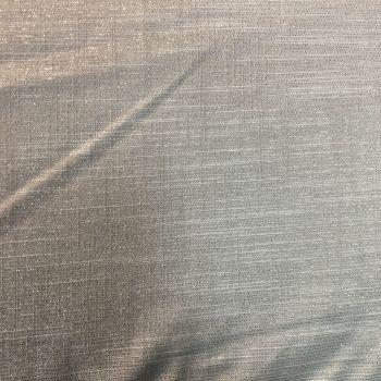 Glitter Linen Look Silver