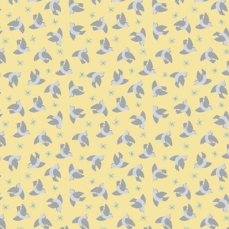 So Darling Flying Bluebirds On Lemon
