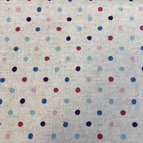 Multi Polka Dot Cotton Canavs