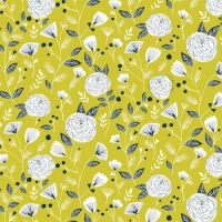 Dashwood Studio Flock Flowers Cotton Fabric