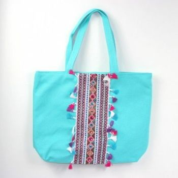 Arwen Boho Shoulder Bag Turquoise