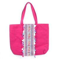 Arwen Boho Shoulder Bag Cerise
