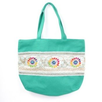Tabitha Boho Shoulder Bag Teal