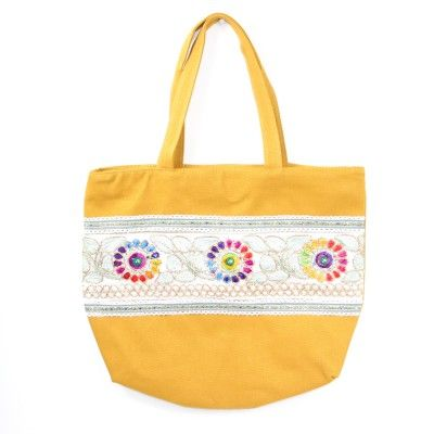 Tabitha Boho Shoulder Bag Mustard