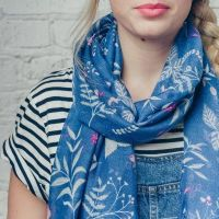 Greer Scarf Blue