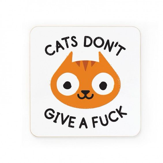 Careless Whiskers Coaster