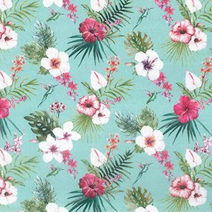 Cotton Extra Wide Hawaii