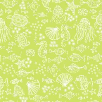 Merryn Under The Sea Green