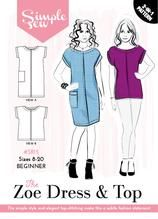 The Zoe Dress and Top Pattern Simply Sew