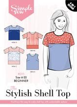 The Stylish Shell ToP Simply Sew