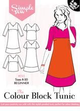 The Colour Block Tunic Simply Sew