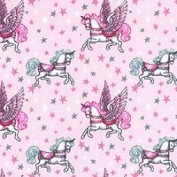 Cotton Extra Wide Unicorns