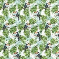 Cotton Extra Wide Toucans