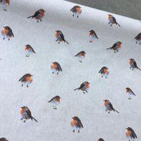 Robins Linen Look Fabric