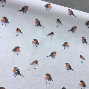 Robins Linen Look Fabric