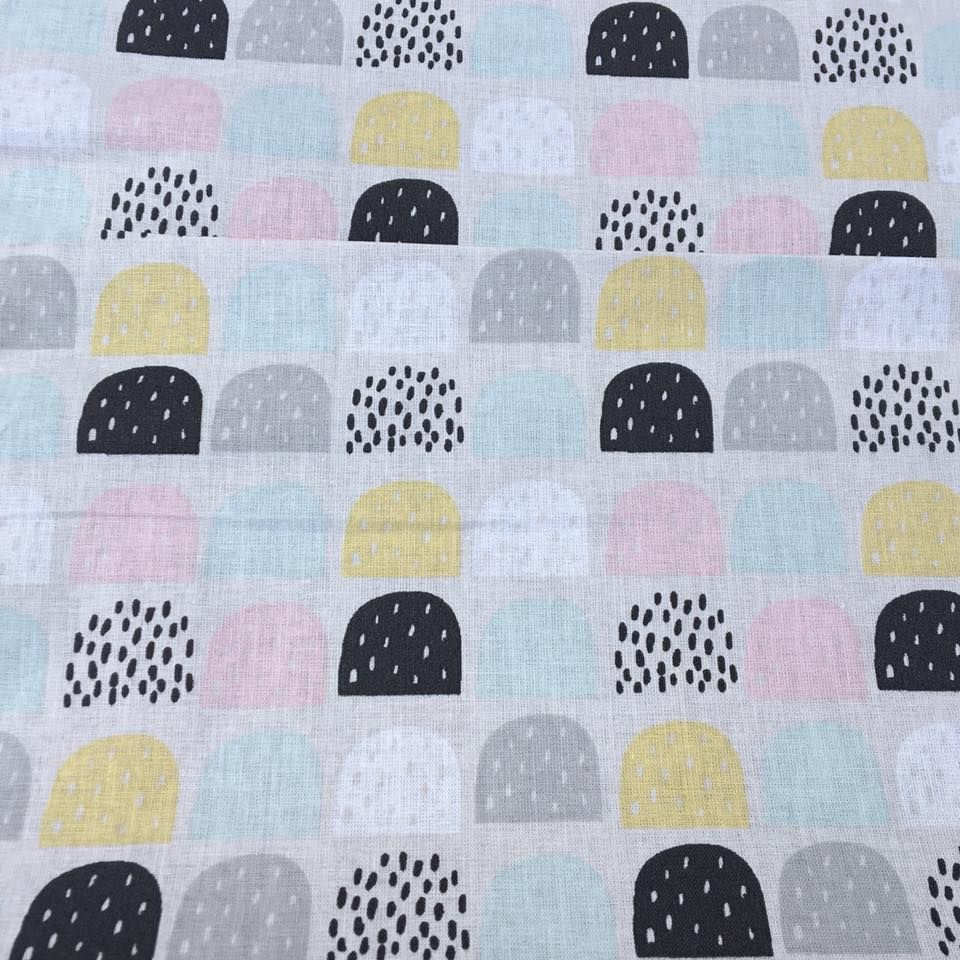 Cotton Fabric Hills Extra Wide