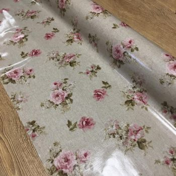 Oil Cloth Roses