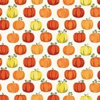 Makower Good Life Pumpkin Fabric