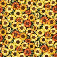 Makower Good Life Sunflowers Fabric