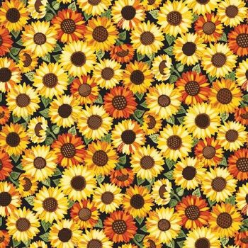 Makower Good Life Sunflowers Fabric