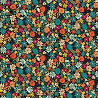 Makower Bloom Flowers Fabric