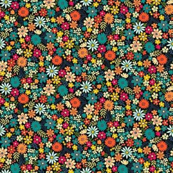 Makower Bloom Flowers Fabric