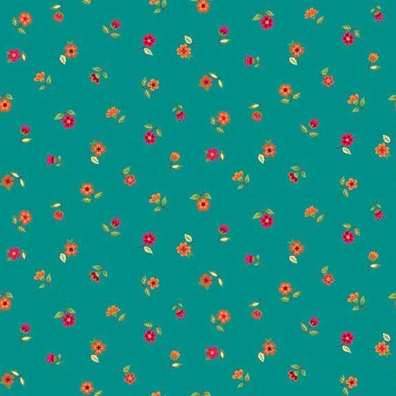 Makower Bloom Scatter Flowers