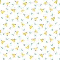 Makower Counting Sheep Chicks Fabric