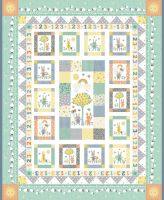 Makower Counting Sheep Fabric Panel