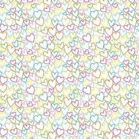 Makower Ellie Hearts Fabric