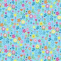 Makower Ellie Floral Fabric