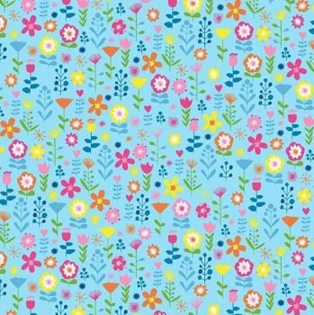 Makower Ellie Floral Fabric