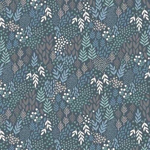 Makower Woodland Leaves Fabric