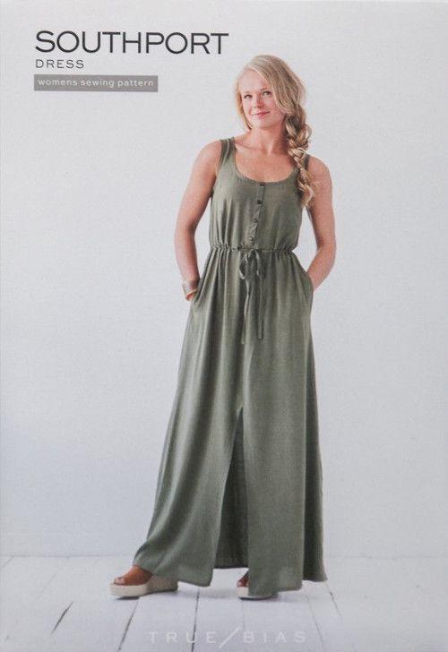 True Bias Sewing Pattern Southport Dress