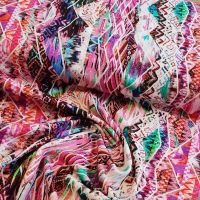 Jersey Fabric Aztec Design