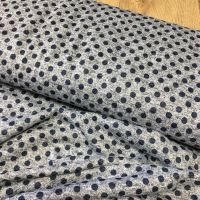 Metallic Jersey Knit Fabric Spots