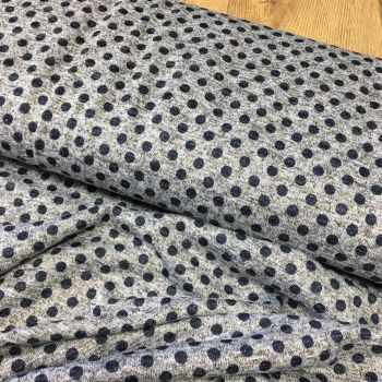 Metallic Jersey Knit Fabric Spots