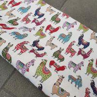 New World Tapestry Llamas