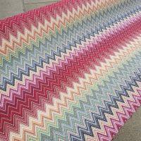 New World Tapestry Zigzag