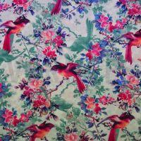 Viscose Dress Fabric Birds